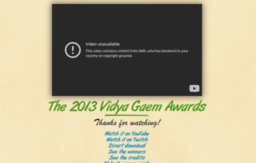 2013.vidyagaemawards.com