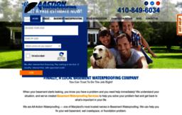 aaactionwaterproofing com website basement waterproofing companies rh websites milonic com Waterproofing Basement Walls Basement Waterproofing Sealer