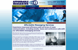 affordablemessaging.com