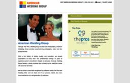 American Wedding Group.Americanweddinggroup Com Website Wedding Photography Video And
