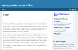 averagewaterconsumption.co.uk