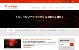 Blog knowbe4 com website  KnowBe4 Security Awareness Training Blog