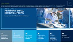 Catalyst medtronic com website  Medtronic Spinal Education