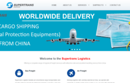 Chinabestfreight com website  Supertrans Logistics/Shipping | From
