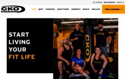 Ckokickboxing com website  Affordable Fitness Kickboxing Classes