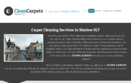 cleancarpetsmarlow.co.uk