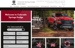 Colorado Springs Dodge >> Coloradospringsdodge Net Website Colorado Springs Dodge