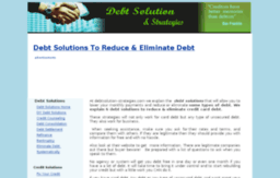 debtsolution-strategies.com