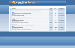 forum.headliner.nl