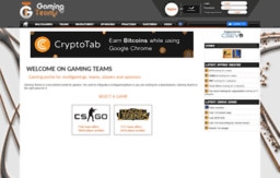 gaming-teams.com