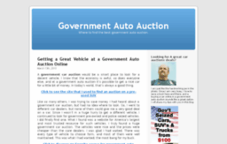 governmentautoauctioninfo.org