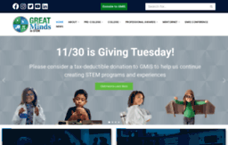 greatmindsinstem.org