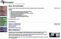Gstreamer com website  GStreamer: open source multimedia framework