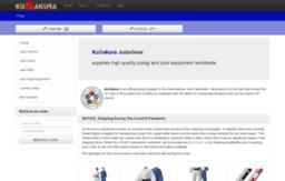 Judogear jp website  KuSakura JudoGear | Home