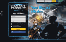 Lp darkorbit com website  DarkOrbit | Your Biggest Mission