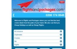 m.flightsandpackages.com