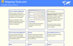 mapping-tools.com