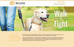 morrisanimalfoundation.donordrive.com