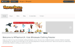 Mpfashionuk com website  Kids Clothing Wholesale | Wholesale