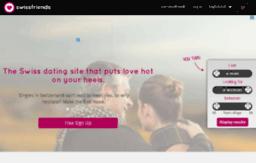 Swissfriends. ch Dating Site.
