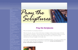 pray-the-scriptures.com