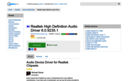 realtek-high-definition-audio-driver.updatestar.com