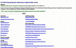 Sap-basis-abap com website  SAP ABAP/4 Programming, Basis