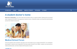 Studentdoc Website StudentDoc