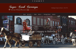 sugarcreekcarriages.com