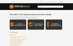 support.animationmentor.com