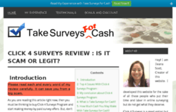 theclick4surveys.com