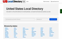 Uslocaldir com website  United States Local Directory   US Local