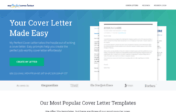 Wpmyperfectcoverletter Website Build Your Cover Letter