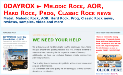 0dayrox blogspot sg website  0DAYROX ▻ Melodic Rock, AOR, Hard Rock