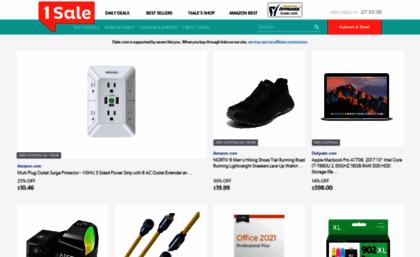 60811e8baafb6 1sale.com website. 1Sale  Online Coupon Codes