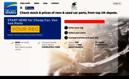 1stchoice Co Uk Website Used Car Parts Car Spares Car Parts