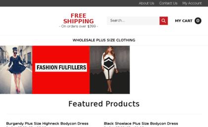 1stopwholesaleclothing com website  Wholesale clothing plus