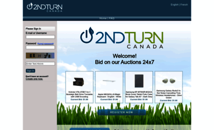 2ndturn Dtdeals Com Website 2nd Turn Canada Auctions