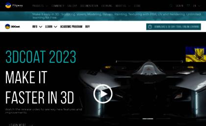 3dcoat com website  PBR | Digital Sculpting | Retopology | UV