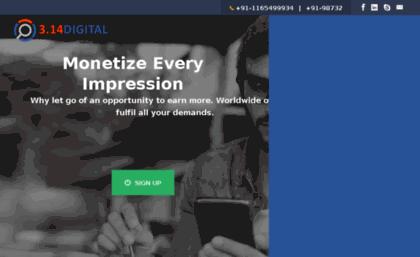 3point14 in website  3 14 Digital   Top CPA, CPI, Pay Per Click