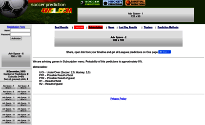 4wdl info website  Free Football Predictions | Free Soccer