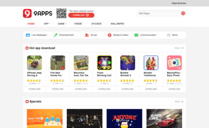 9apps mobi website  Free Android Apps Download | Best Apps for