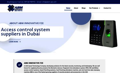Abm-pk com website  Dubai Biometric, Fingerprint Attendance, Card