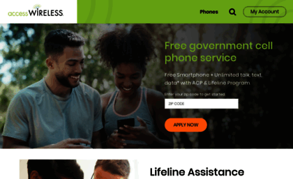 Accesswireless com website  No Contract Wireless Plans