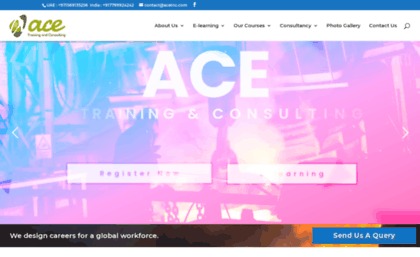 Acetnc Website ACE Training And Consulting
