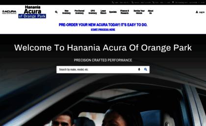Acuraoforangepark Com Website New Car Dealer Jacksonville