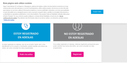 Adeslassalud Es Website Español