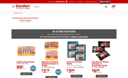 Ads Gfsstore Com Website Gordon Food Service Store