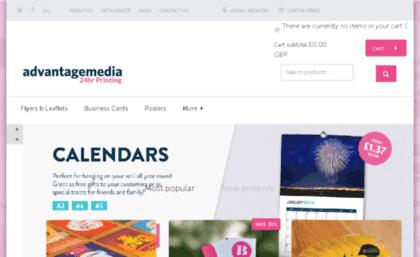 Advantagedigitalmedia website flyer leaflet and business advantagedigitalmedia colourmoves