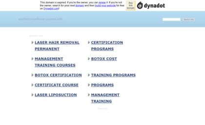 Aesthetic-medicine-courses info website